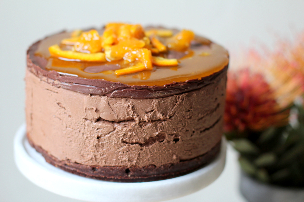 Recipe Box: Orange Chocolate Mousse Cake | Vidya Living
