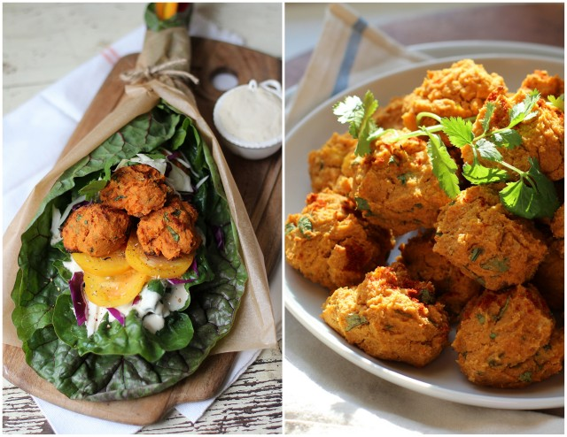 Golden Beet Falafel