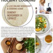 Ayurvedic Holiday Cooking Workshop